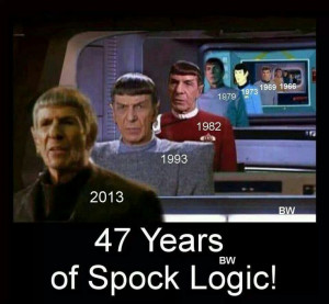 Logic Can Believe Spock Meme