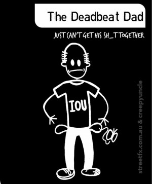 Details about MY CREEPY FAMILY - DEADBEAT DAD stickman sticker decal