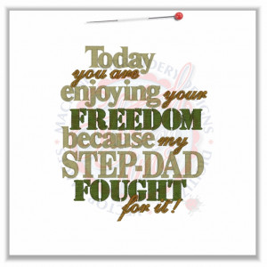 Step Father Sayings Sayings (4612) freedom step