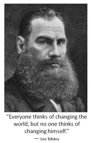 Quote of the Day: Leo Tolstoy on Violence