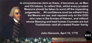 Quotes by John Hancock