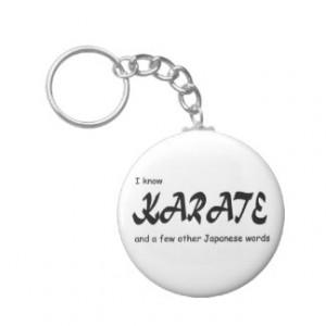 Funny Karate Key Rings