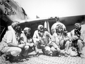 World War II Photo: The Tuskegee Airmen