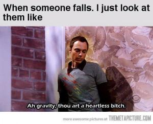 funny Sheldon Cooper Big Bang Theory quote