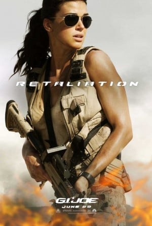 Previous Next Adrianne Palicki in G.I. Joe: Retaliation #8