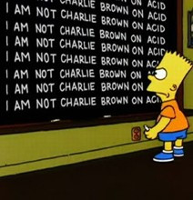 Bart Simpson Blackboard Quotes