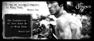 Bruce Lee's Wing Chun quotes