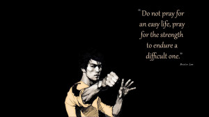 Bruce Lee Quotes Artwork HD Wallpaper for Desktop