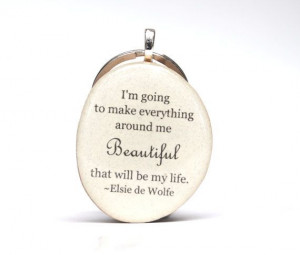 Inspirational key chain. Quote key chain. Going by starlightwoods, $24 ...