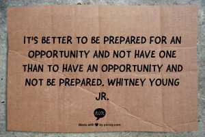 ... Whitney Young Jr. #quote #inspiration #opportunity #motivation #