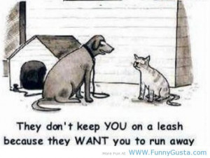 Dog Quotes And Sayings | Cute pets : dog and cat – funny quotes ...