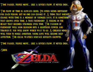 Ocarina of Time:Sheik's Quote by haduken32
