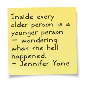 ... wondering what the hell happened. - Jennifer Yane #birthday #quotes