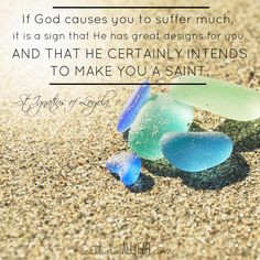 Catholic All Year: St. Ignatius of Loyola quote about suffering ...