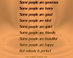 Generous People Quotes Some people are generous