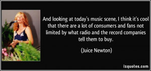 More Juice Newton Quotes