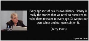 More Terry Jones Quotes