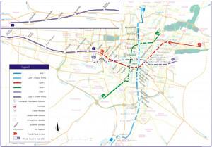 Tehran Latest Map