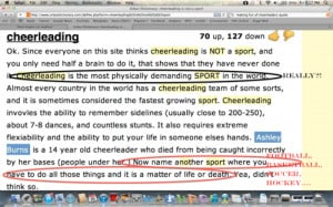 Cheerleading Is A Sport Quotes Tumblr Cheerleading...its a hard '