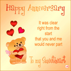 Anniversary verses for cards, scrapbooking, speeches