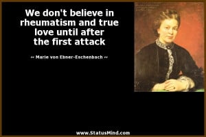 ... the first attack - Marie von Ebner-Eschenbach Quotes - StatusMind.com