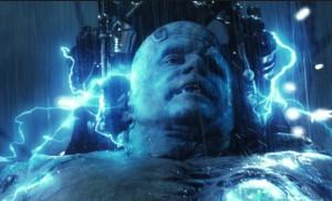 Description: Shuler Hensley as Frankenstein's Monster curses Count ...