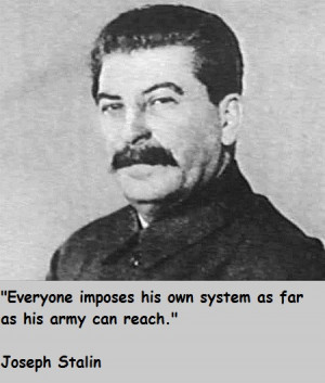 Showing Gallery For Stalin Quotes