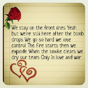 Love and war ~ tamar braxton