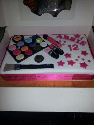 Mac Make Up Cake quote Mac make up