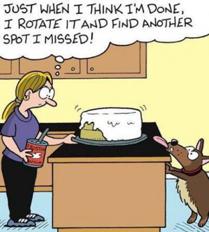 ... Funny cartoons , Funny Pictures // Tags: Funny dog baking cartoon