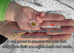 Selfish Parents Quotes