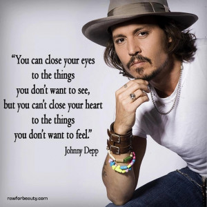 Inspirational quotes: Johnny Depp, Famous Quotes, Quotes Inspiration ...