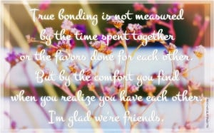Glad We're Friends, Picture Quotes, Love Quotes, Sad Quotes, Sweet ...