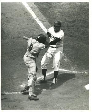 Lot Detail Juan Marichal Fighting With Dodgers Catcher John Roseboro