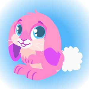 easter pets wearing bunny set from happy pet purple 1 jpg