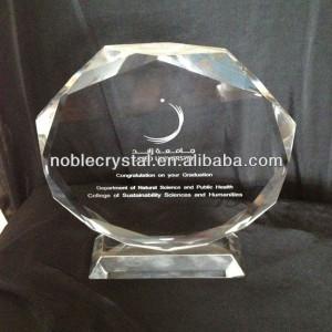 La Universidad De Zayed Graduación Premio Cristal Recuerdos