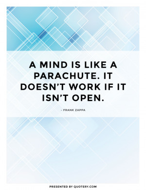 Quote By Frank Zappa