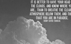 Nature Quotes Thoreau Henry david thoreau