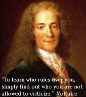 to learn who rules over you simply find out who you are not allowed to ...