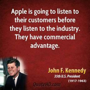 John F Kennedy Quote I Was Impressed That This Firm Was Taking Risks I