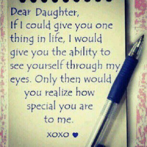 inspirational daughter quotes | life inspiration quotes: My wish for ...