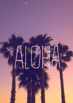 Aloha #Sunset More