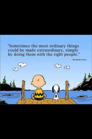 Charlie Brown . . . MY friends. 8-)