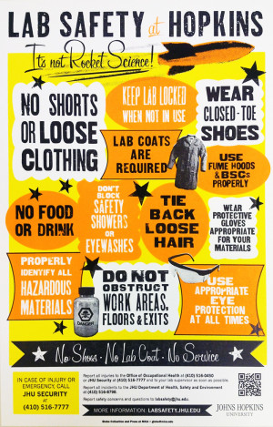 download it s not rocket science lab safety poster pdf