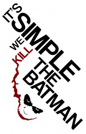 Typography « ashleyws #Batman #Joker #Quote #Typography