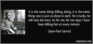Quotes About Dying Alone