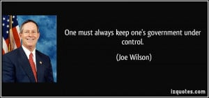 Government Control quote #1