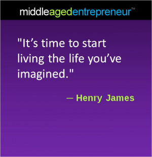 middleage Henry James quote