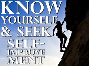 ... Seek Self-Improvement