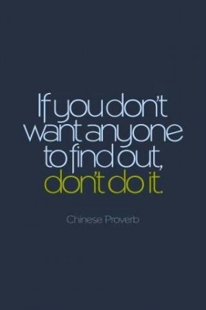 Or do it alone